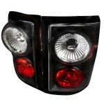 2004 Ford F150 Flareside Black Altezza Tail Lights