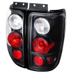 Ford Expedition 1997-2002 Black Altezza Tail Lights