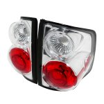2000 Chevy S10 Clear Altezza Tail Lights