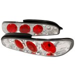 Mazda MX6 1993-1997 Clear Altezza Tail Lights
