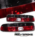 1997 Lexus SC300 Red and Smoked Euro Tail Lights