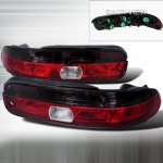 1993 Lexus SC400 Red and Smoked Euro Tail Lights