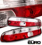 Lexus SC300 1992-1994 Red and Clear Euro Tail Lights