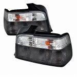 BMW 3 Series Sedan 1992-1998 Smoked Euro Tail Lights