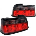 1996 BMW 3 Series Coupe Euro Tail Lights Red and Smoked