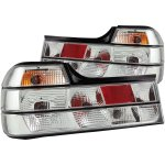 1991 BMW 7 Series Chrome Euro Tail Lights
