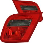 2000 BMW 3 Series Coupe Red and Smoked Euro Trunk Tail Lights