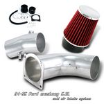 Ford Mustang V8 1994-1995 Polished Cold Air Intake System