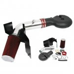 2001 Dodge Durango V8 Cold Air Intake with Heat Shield and Red Filter
