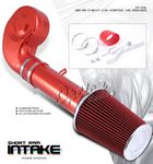 GMC Sierra 1988-1995 Red Short Ram Intake System