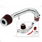 Honda Civic 2001-2005 Polished Short Ram Intake with Red Air Filter