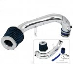 Honda Civic 2001-2005  Polished Short Ram Intake with Blue Air Filter