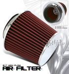 Universal Red High Flow Closed Top Replacement Air Filter