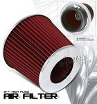 Universal Red High Flow Replacement Air Filter