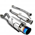 1994 Acura Integra Coupe Cat Back Exhaust System with Titanium Tip