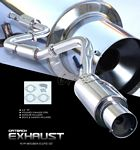 1995 Mitsubishi Eclipse GST Cat Back Exhaust System