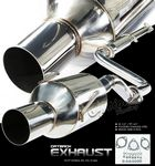 1997 Honda Del Sol Cat Back Exhaust System
