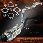 2000 Honda Accord Coupe Cat Back Exhaust System