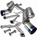 Infiniti G35 Coupe 2003-2007 Cat Back Exhaust System with Titanium Tip