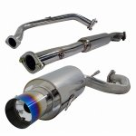 Mitsubishi Eclipse GST 1995-1999 Cat Back Exhaust System with Titanium Tip