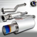 2008 Scion tC Cat Back Exhaust System with Titanium Tip