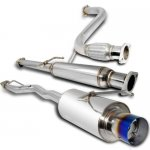 1997 Honda Accord Cat Back Exhaust System with Titanium Tip