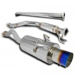 Honda Civic Sedan 2006-2009 Cat Back Exhaust System with Titanium Tip