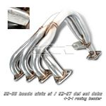 1996 Honda Del Sol  4-2-1 Stainless Steel Racing Headers
