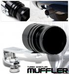 Turbo Muffler Exhaust Sound Whistler Black