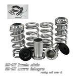 1993 Honda Civic Silver Coilovers Lowering Springs Kit
