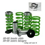 Honda Civic 1988-2000 Green Coilovers Lowering Springs Kit