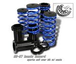 1992 Honda Accord Blue Coilovers Lowering Springs Kit with Scale