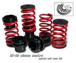 Nissan 240SX 1989-1993 Red Coilovers Lowering Springs Kit with Scale
