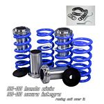 1993 Honda Civic Blue Coilovers Lowering Springs Kit