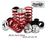 Ford Focus 2000-2004 Red Coilover Lowering Springs Kit