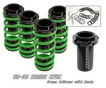 1993 Honda Civic Green Coilovers Lowering Springs Kit with Scale