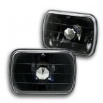 1986 GMC Safari Black Sealed Beam Headlight Conversion