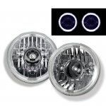 2002 Jeep Wrangler Sealed Beam Projector Headlight Conversion White Halo