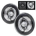 1973 Ford F250 Black Chrome Sealed Beam Headlight Conversion