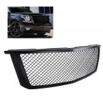 2015 Chevy Suburban Black Mesh Grille