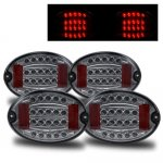 Chevy Corvette 1997-2004 Smoked LED Tail Lights