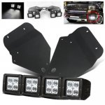 2010 Ford F150 SVT Raptor Dual LED Spot Beam LED Fog Lights and Mount