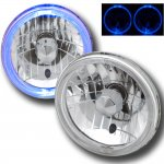 1971 Ford Mustang 7 Inch Halo Sealed Beam Headlight Conversion