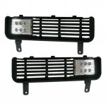 Dodge Ram 3500 1994-2002 LED Fog Lights and Bumper Grille Kit
