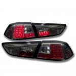 Mitsubishi Lancer Evo X 2008-2015 Smoked LED Tail Lights