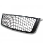Chevy 2015-2016 Tahoe Front Grill Black Mesh