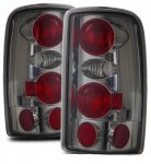 GMC Yukon Denali 2001-2006 Smoked Custom Tail Lights