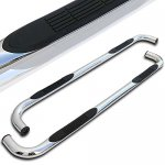 Chevy Silverado 3500 Crew Cab 2001-2006 Nerf Bars Stainless Steel