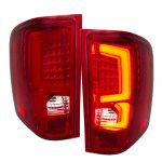 Chevy Silverado 2007-2013 Signature LED Tail Lights Red