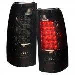 2003 GMC Sierra LED Tail Lights Smoked